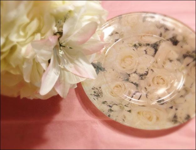 DIY Bridal Shower/Wedding Plates